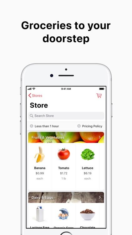 Cornershop by Uber: Groceries