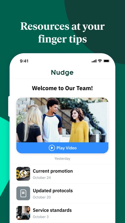 Nudge - Your Workplace App