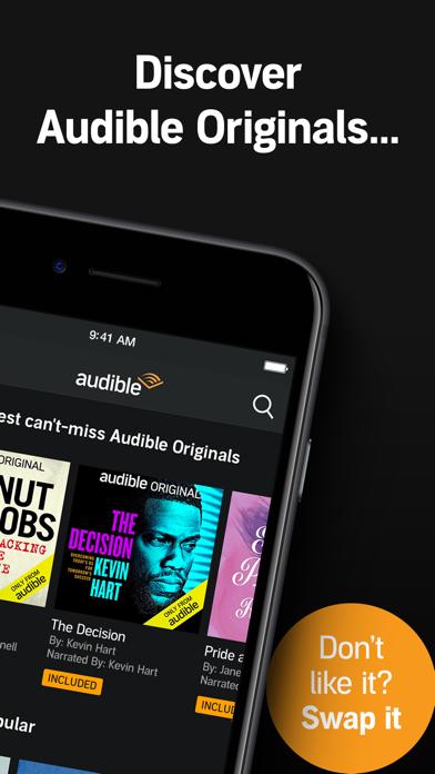 Audible audio books & podcasts Screenshot
