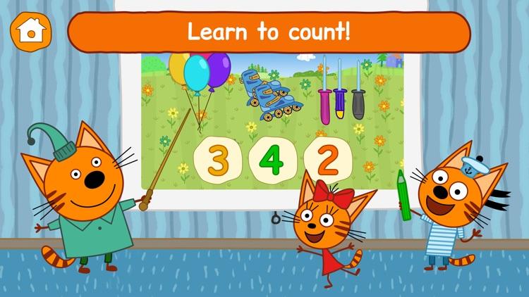 Kid-E-Cats: Toddler Games ABC! screenshot-3