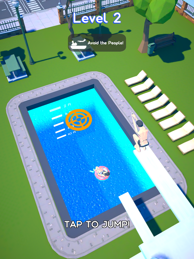 Belly Flop 3D, game for IOS