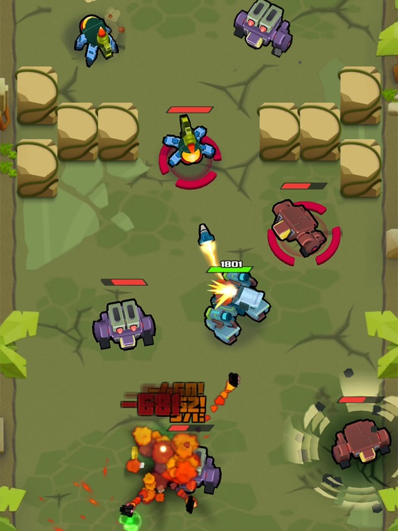 Iron Wars – Mech Battlesのおすすめ画像1