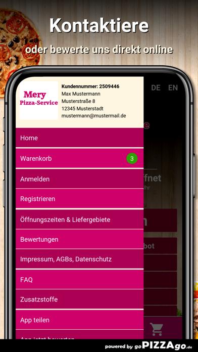 Mery Pizza-Service Salach screenshot 3