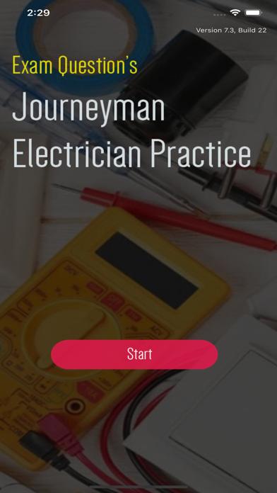 Journeyman Electrician Exam - screenshot 1