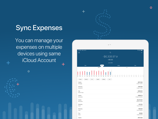 5coins Simple expense tracker Screenshots