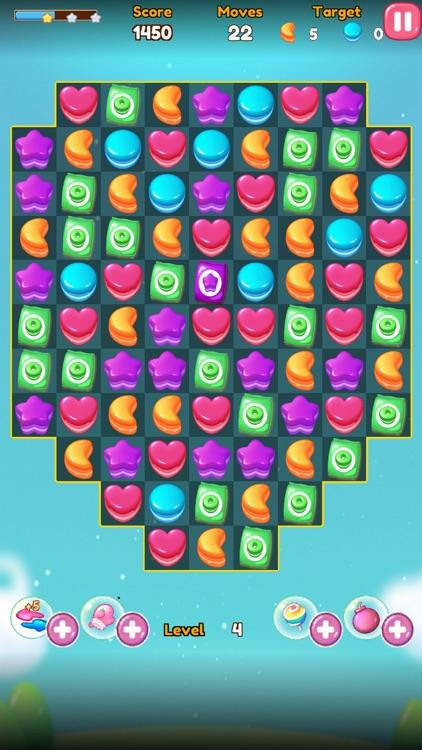 Jelly Fruit Candy Jam Pop screenshot-5