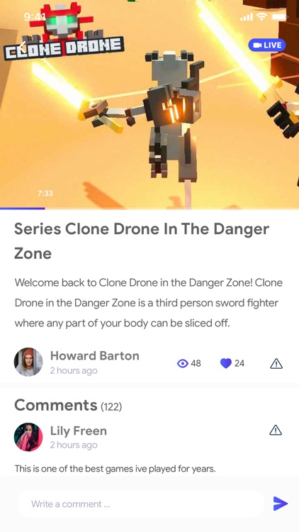 GamePro-Clone Drone in Danger