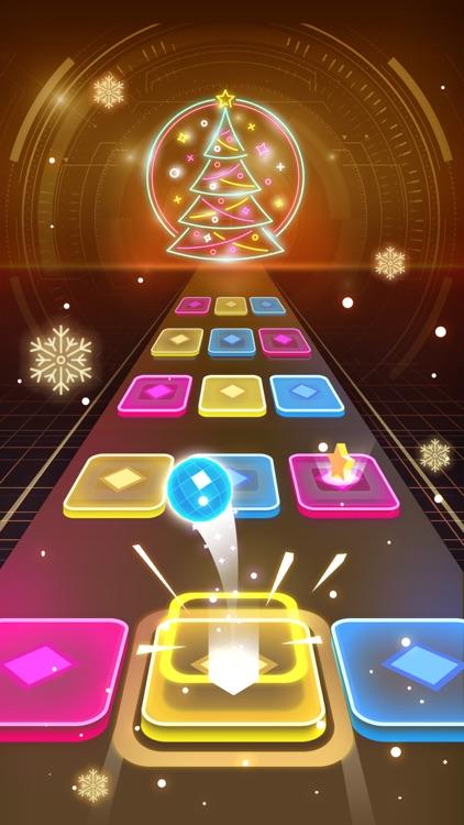Color Hop 3D - Music Ball Game screenshot-3