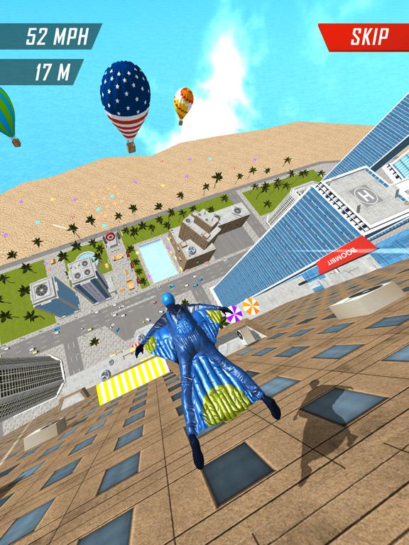 Base Jump Wing Suit Flying screenshot 10