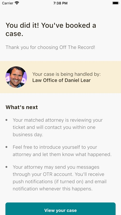 Off The Record: Ticket Lawyer screenshot-7
