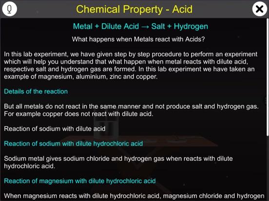 Chemical Property - Acid screenshot 6