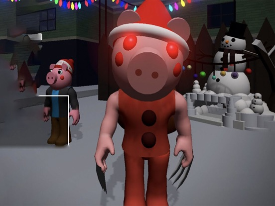 Ipad Screen Shot Piggy Santa Claus 3