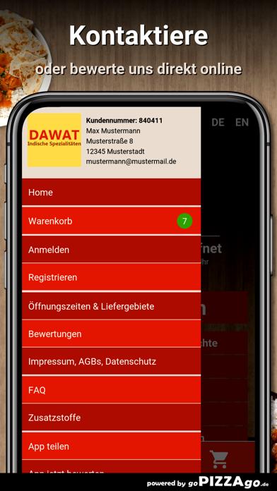Dawat Berlin Essen screenshot 3