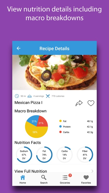 Gameday Recipes screenshot-3