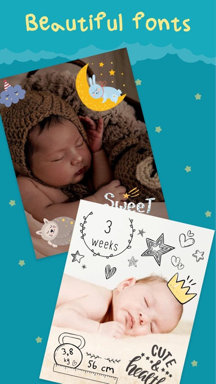 Cute - Baby Photo Editor screenshot-4