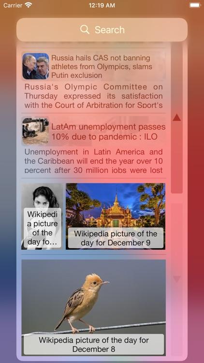 RSS Widget screenshot-3