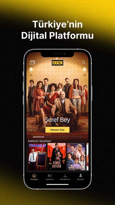 Exxen iphone ekran görüntüleri
