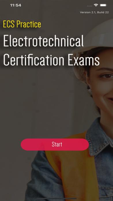 ECS Card Practice Exams (JIB) screenshot 1