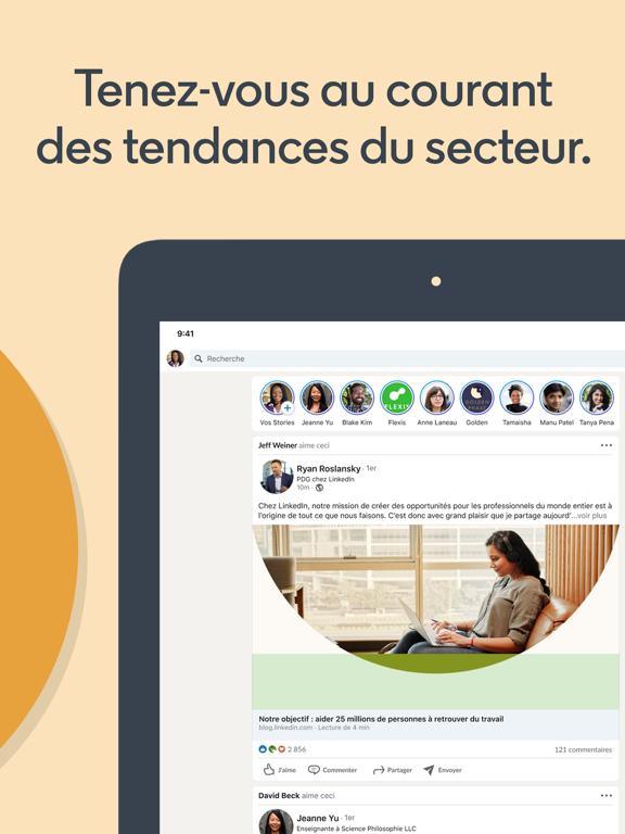 LinkedIn: Chercher des emplois