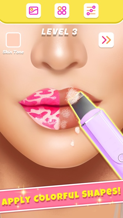 Lip Art Makeup Artist Screenshot on iOS