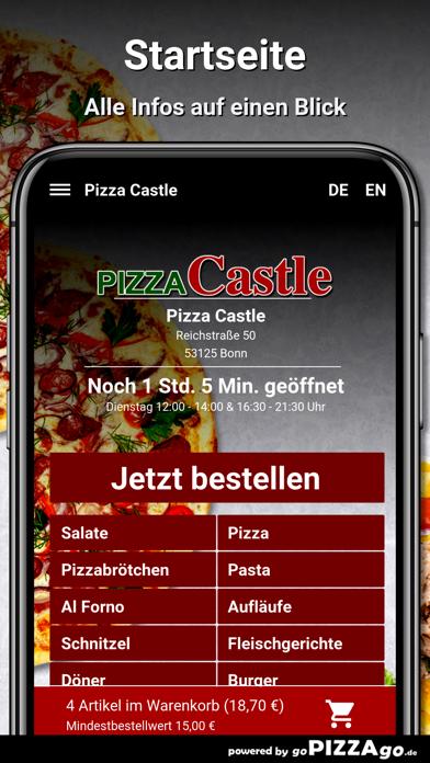 Pizza Castle Bonn screenshot 2