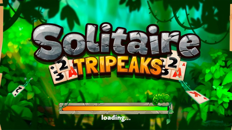 Solitaire Tripeaks Lost Worlds screenshot-3