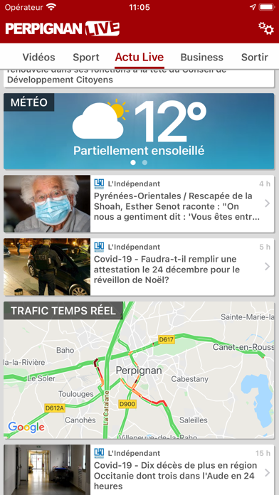 messages.download Perpignan Live : Actu & Sport software