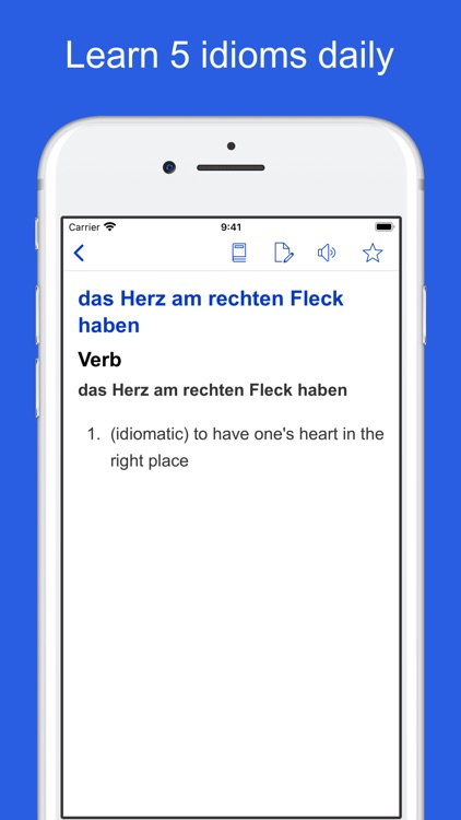 German Idioms, Proverbs screenshot-5