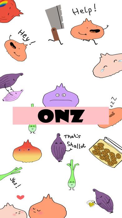 ONZ - Onion Animated Stcikers Screenshot
