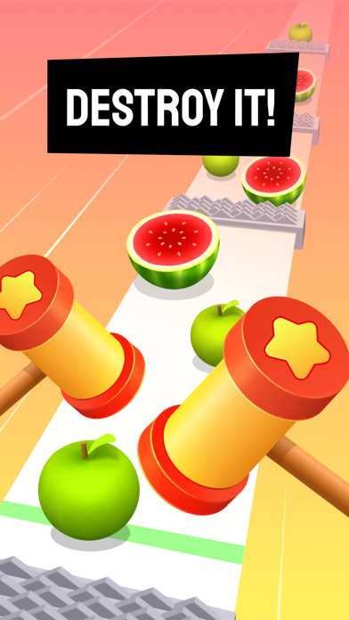 Beat Hammer – Fruits vs. Music screenshot 4