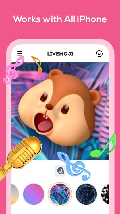 Livemoji-3D Face Emoji Games