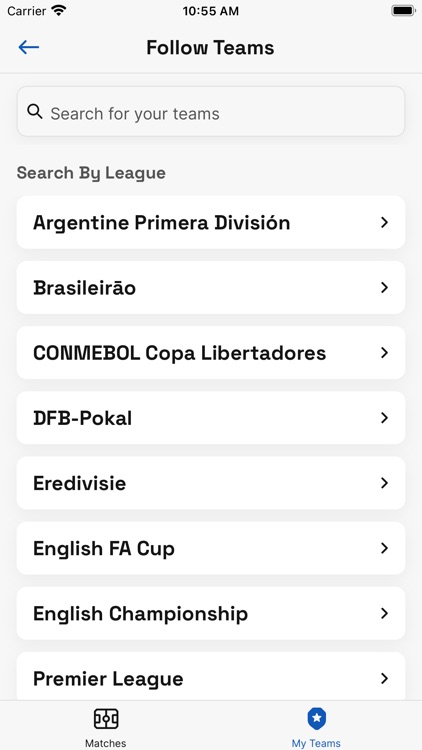 Soccer TV Schedules screenshot-4