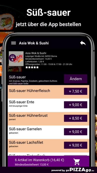 Asia Wok & Sushi Borna screenshot 5