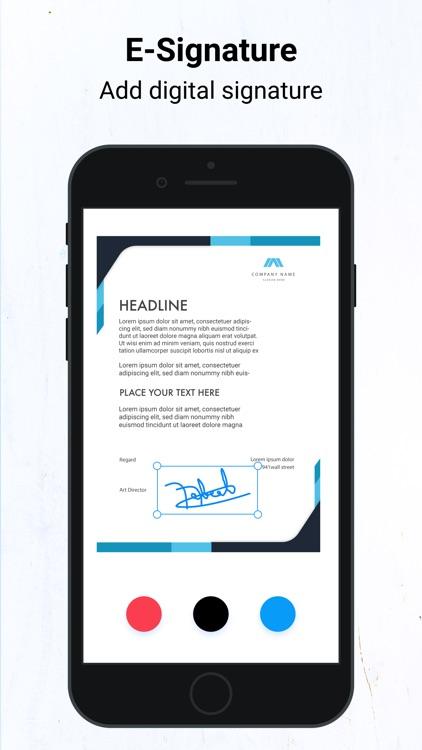 Mobile OCR Scanner for iPhone screenshot-3