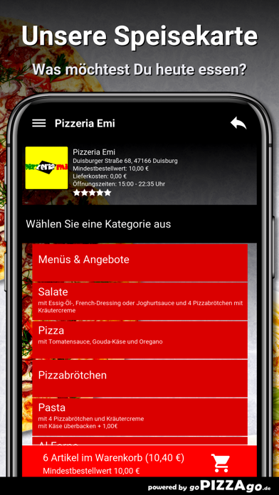 Pizzeria Emi Duisburg screenshot 4