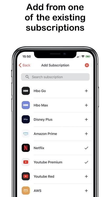 Subscriptions Manager screenshot-3