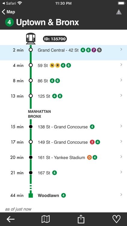 Underway: NYC Subway Transit