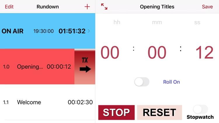 TVProd Timer Pro screenshot-0