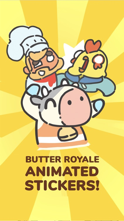 Butter Royale Stickers screenshot-0