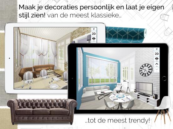 Home Design 3D GOLD iPad app afbeelding 4