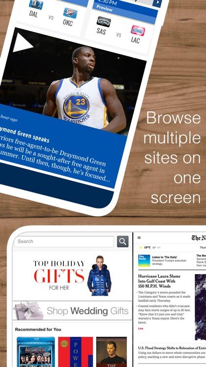 Split Web Browser