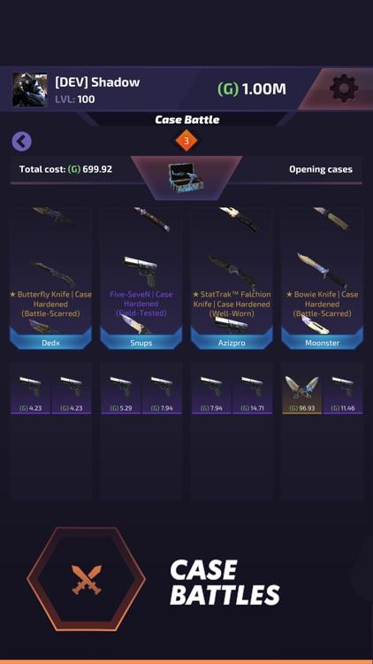 Case Battle - Skins Simulator screenshot-4