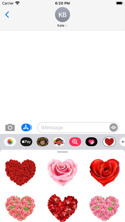 Roses to Love Stickers