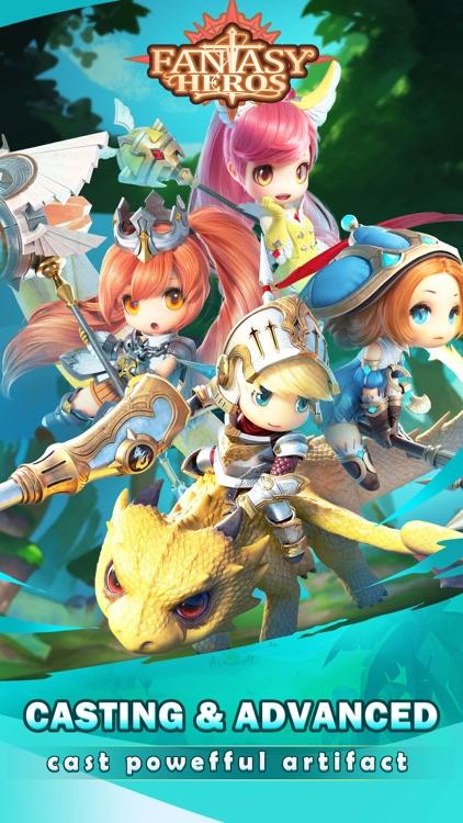 Fantasy Heros : Idle RPG Game screenshot-3