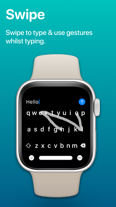 Shift Keyboard - For Watch Screenshots