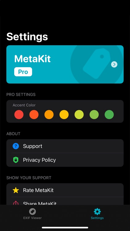 MetaKit | Photo EXIF Viewer