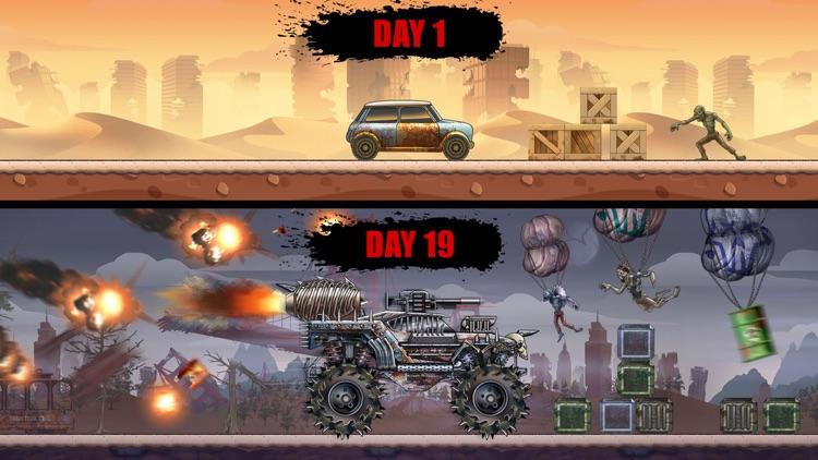 Zombie Hill Racing: Earn & Win screenshot-3