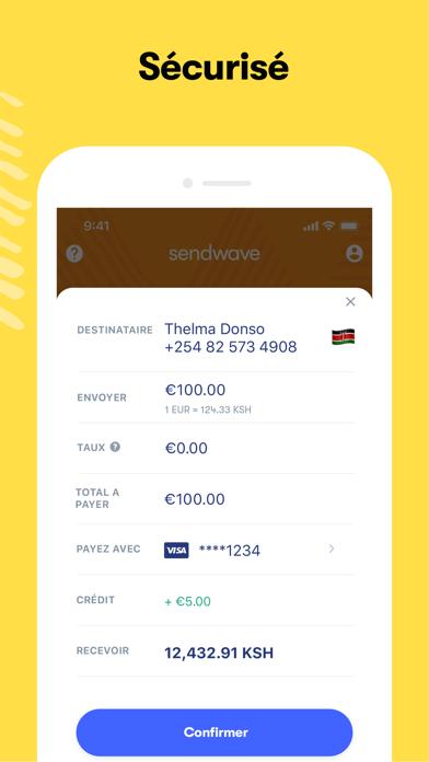 Sendwave-Envoyez de l'argent