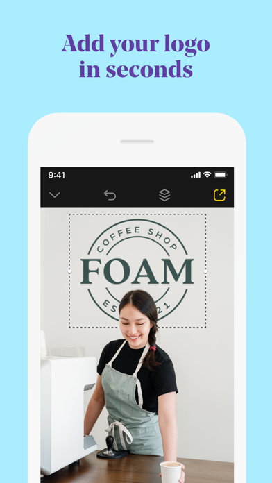 Over: Graphic Design Creator Screenshot