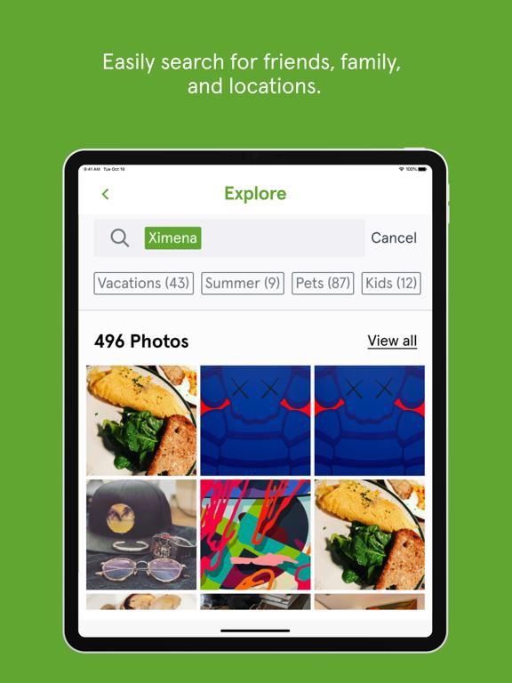 iPad Image of myPhotoVault